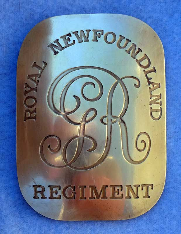 British, Royal Newfoundland Regiment