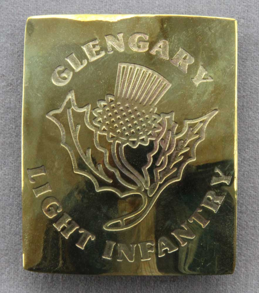 British, Glengarry Light Infantry