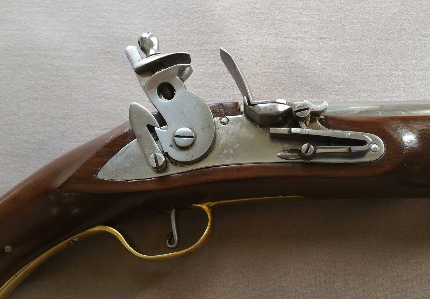 British Late Pattern Dog Lock Pistol
