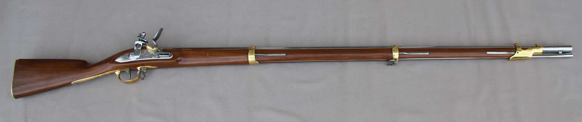 1777 Charleville musket ( brass furniture)