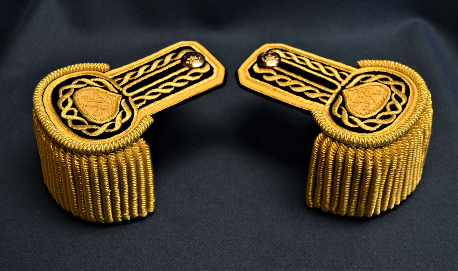 British, 1830s Commissariat Epaulettes
