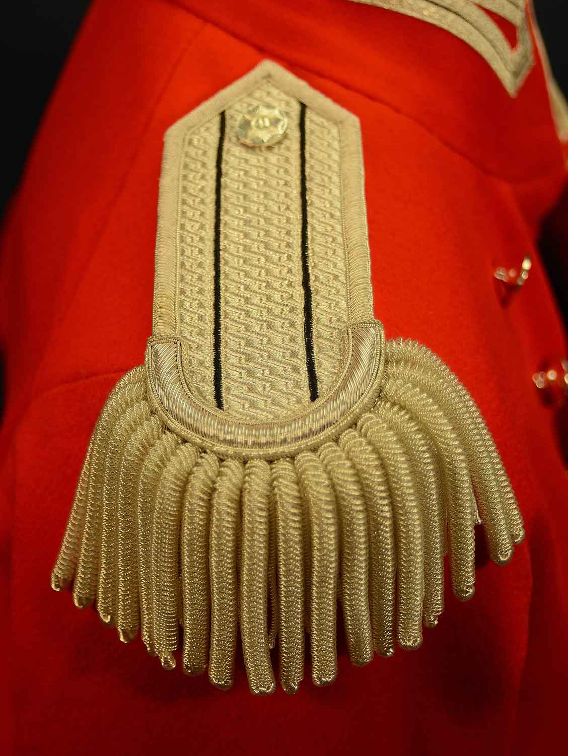 British, 1812, 41st Regt of Foot Epaulette
