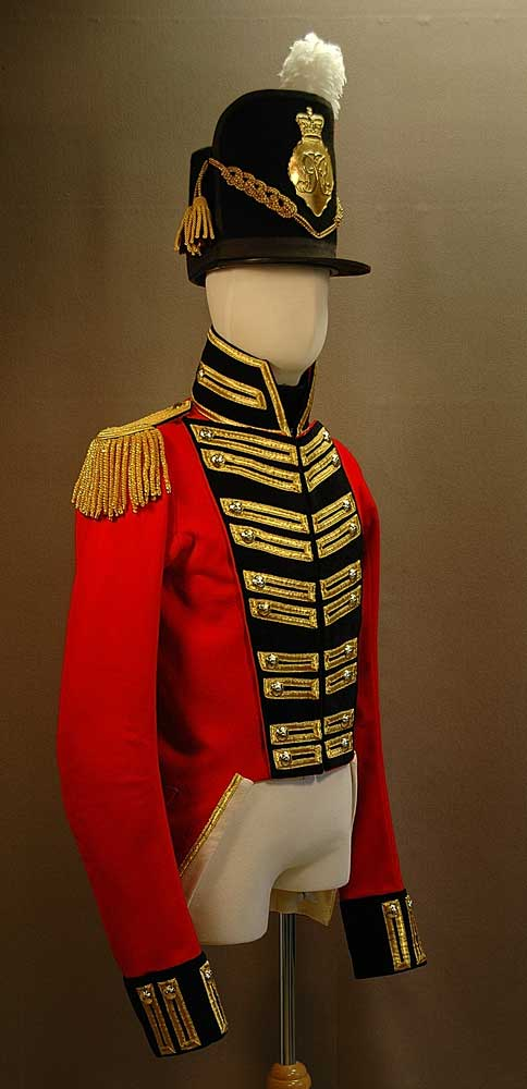British, 6th Battalion Quebec Militia, Officer