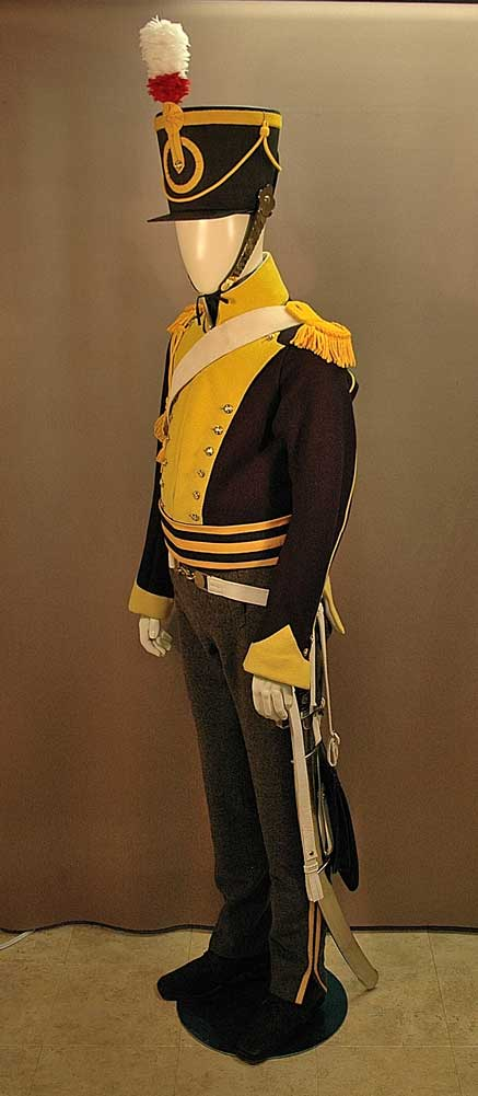 British, 19th Light Dragoon, Trooper, 1814