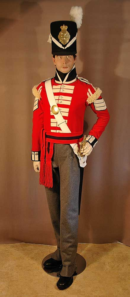British, 21st Regt of Foot, Sergeant