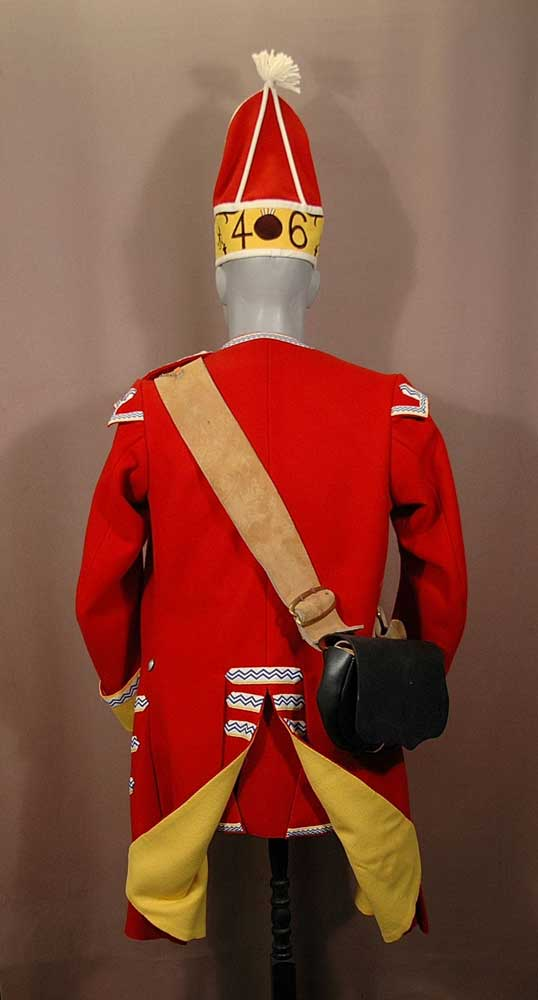 British, 46th Regt of Foot, Grenadier Coy