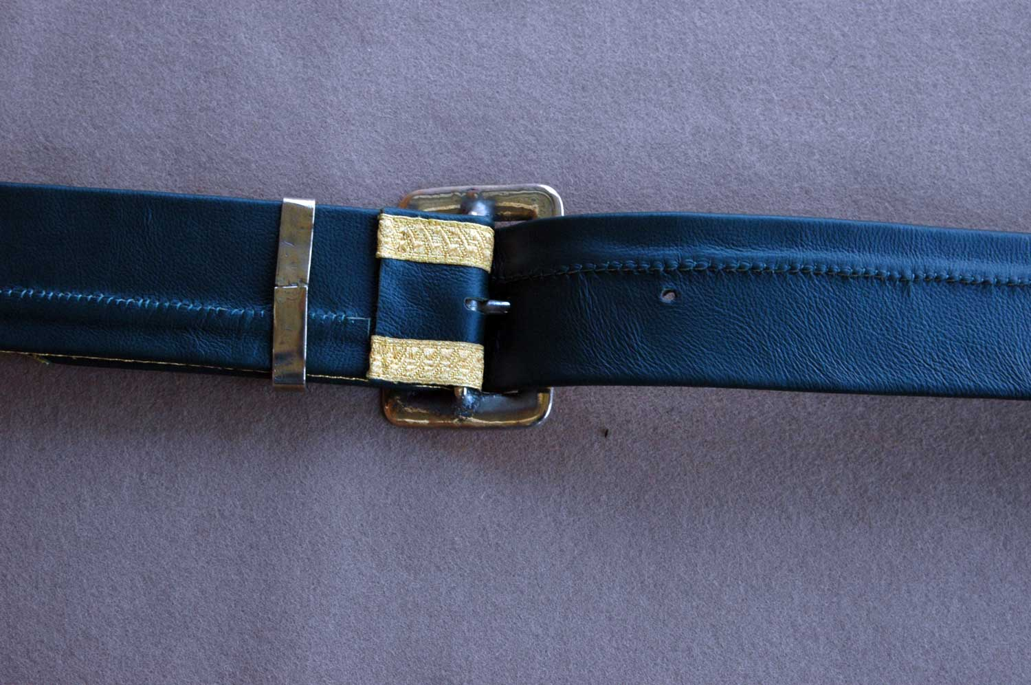 French, Chasseur-a-Cheval, Officer's Belt & Pouch