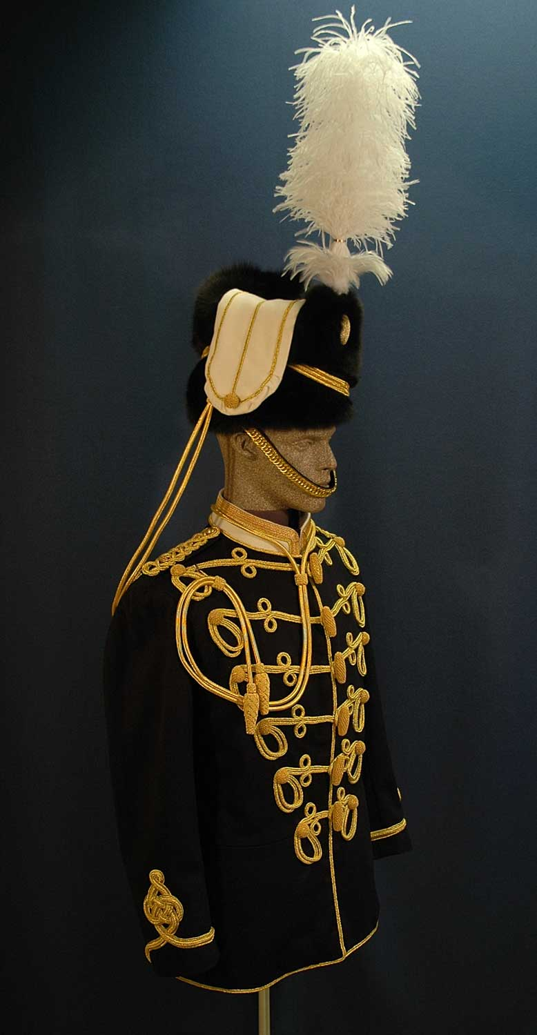 Canadian, 1st Hussars, Officer (Dress)