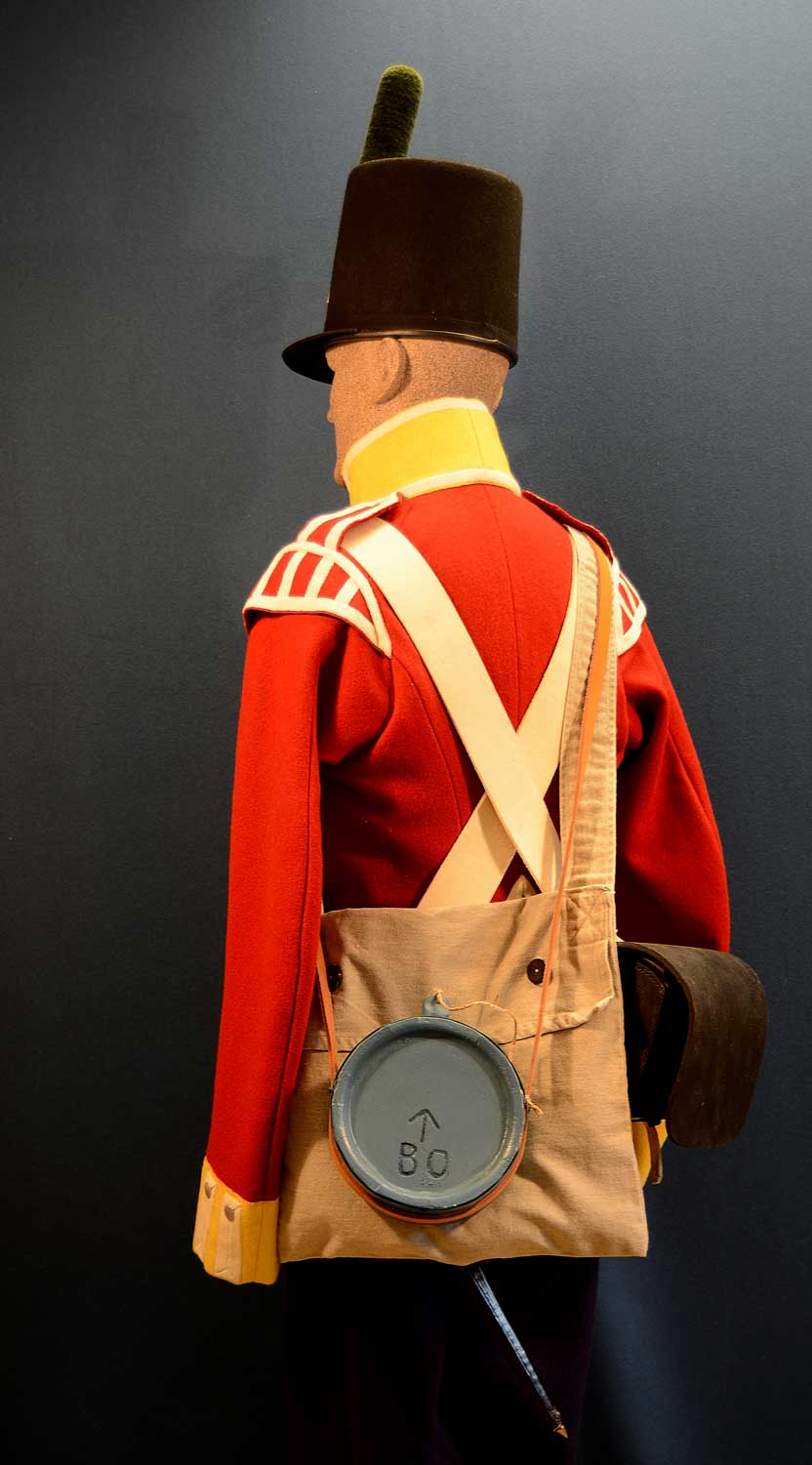 British, Lower Canada Militia, 1813