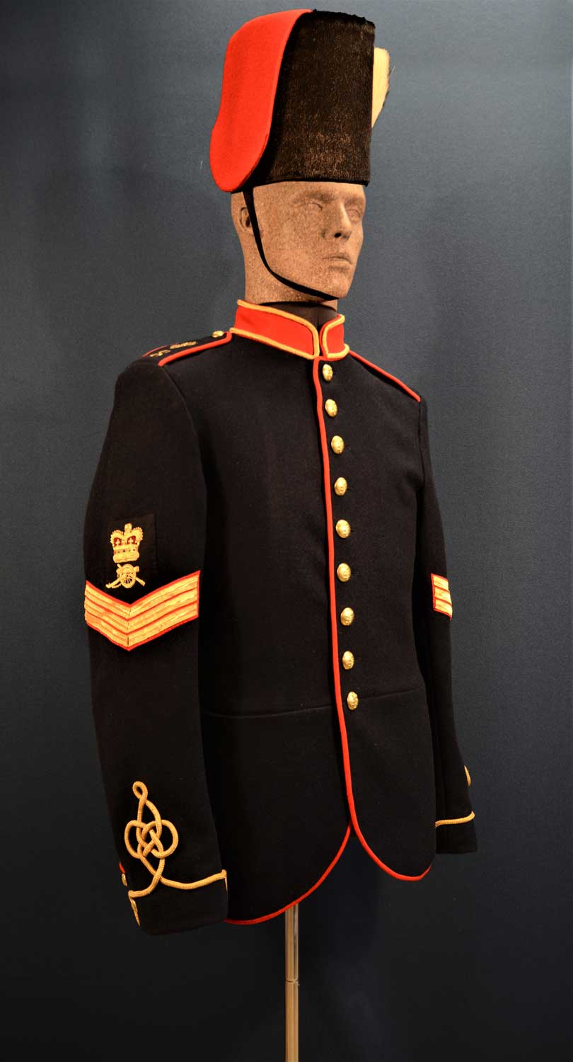 British, Royal Artillery, Sergeant