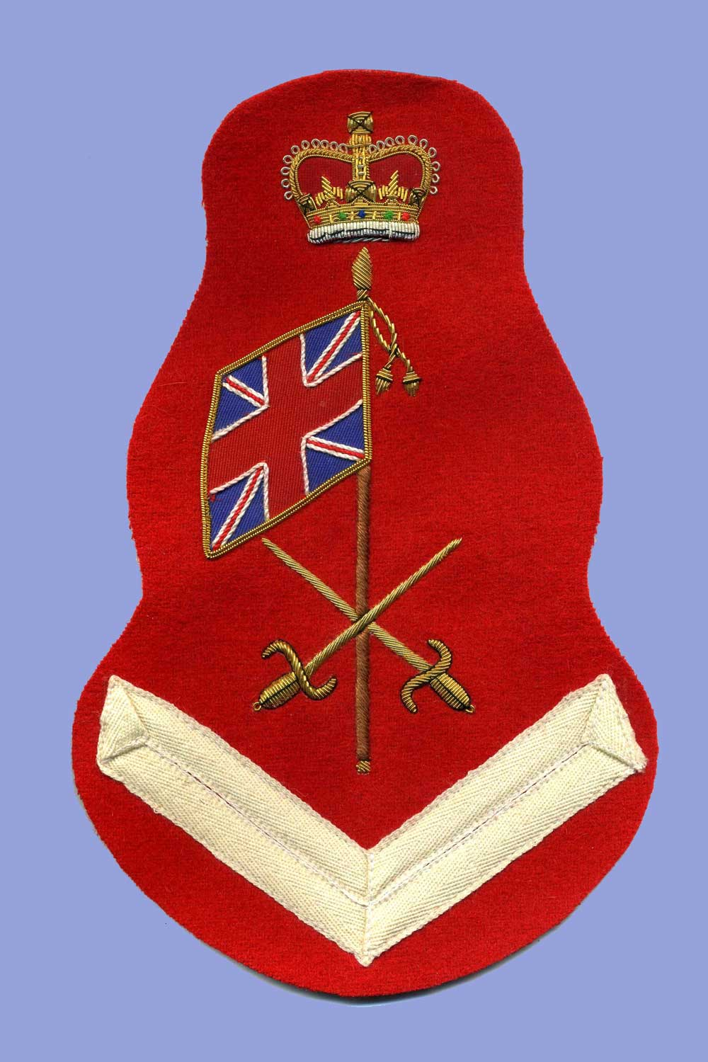 British, Napoleonic Colour Sergeant's Badge