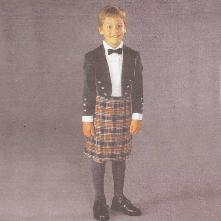 Boy's Scottish Kilt and Jacket