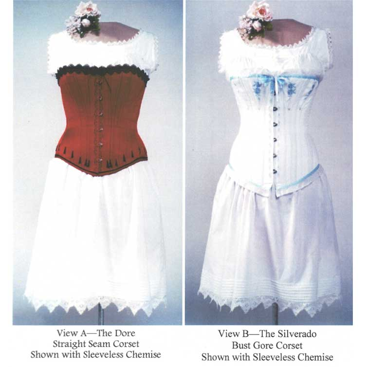 Ladies' Victorian Underwear and Corsets 1837-1899