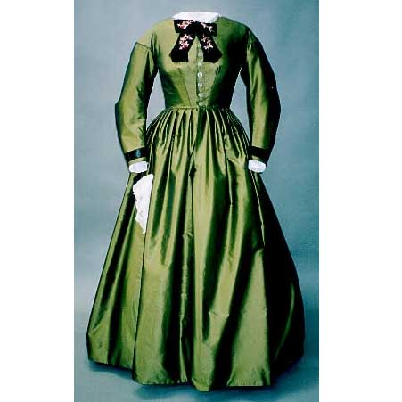 Early 1860s Day Dress