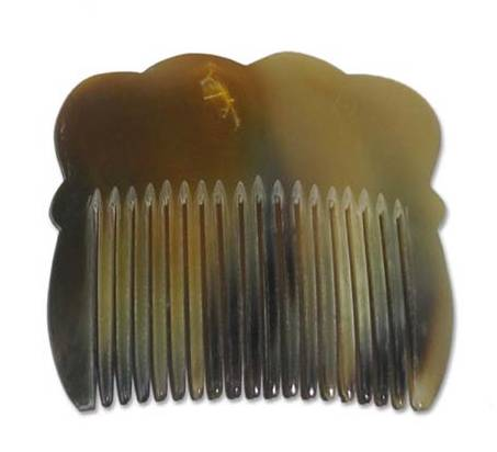 Comb, Decorative Horn Hair
