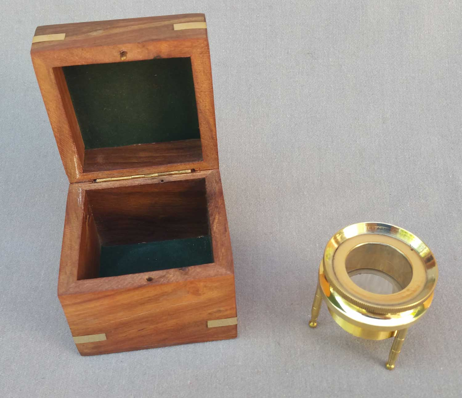 Magnifying Chart Reader with Box